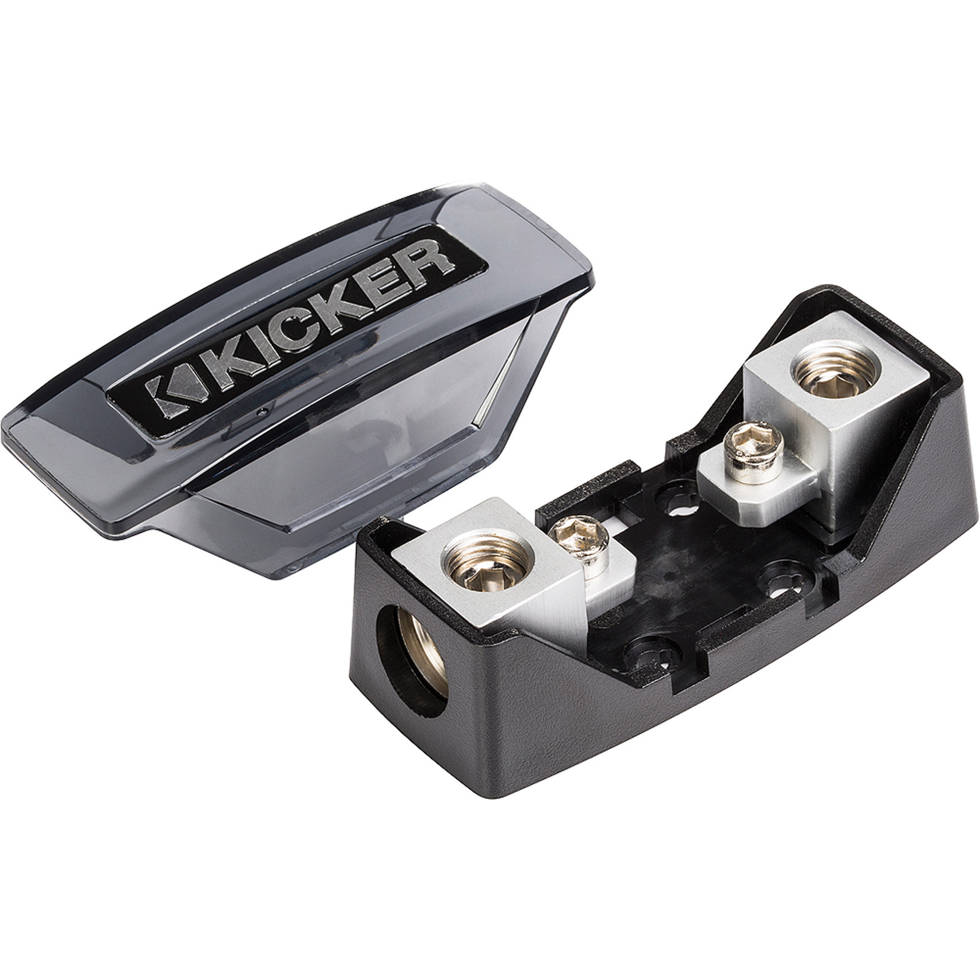Kicker AFS Fuse Holder with One 1/0-8 Gauge Input and Output