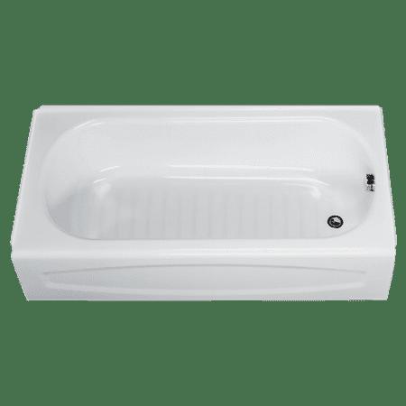 Wooden Soaking Tub (American Standard New Salem 60 in x 30 in Right Drain Soaking Tub in White)