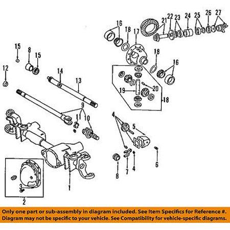 Dodge CHRYSLER OEM 2001 Ram 1500 Front-Axle Shafts