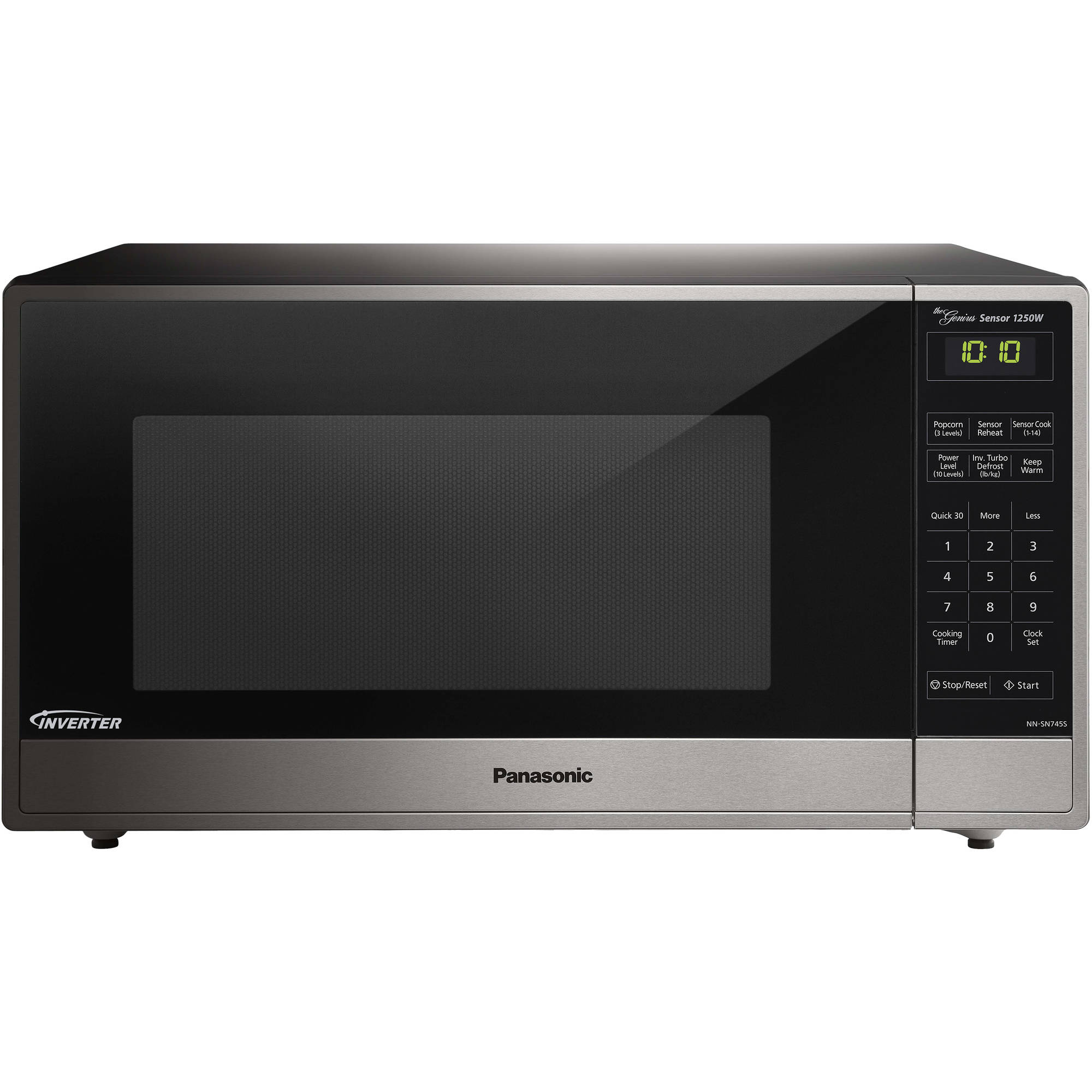 panasonic 16 cu ft microwave oven with inverter technology silver - Panasonic Microwave Inverter