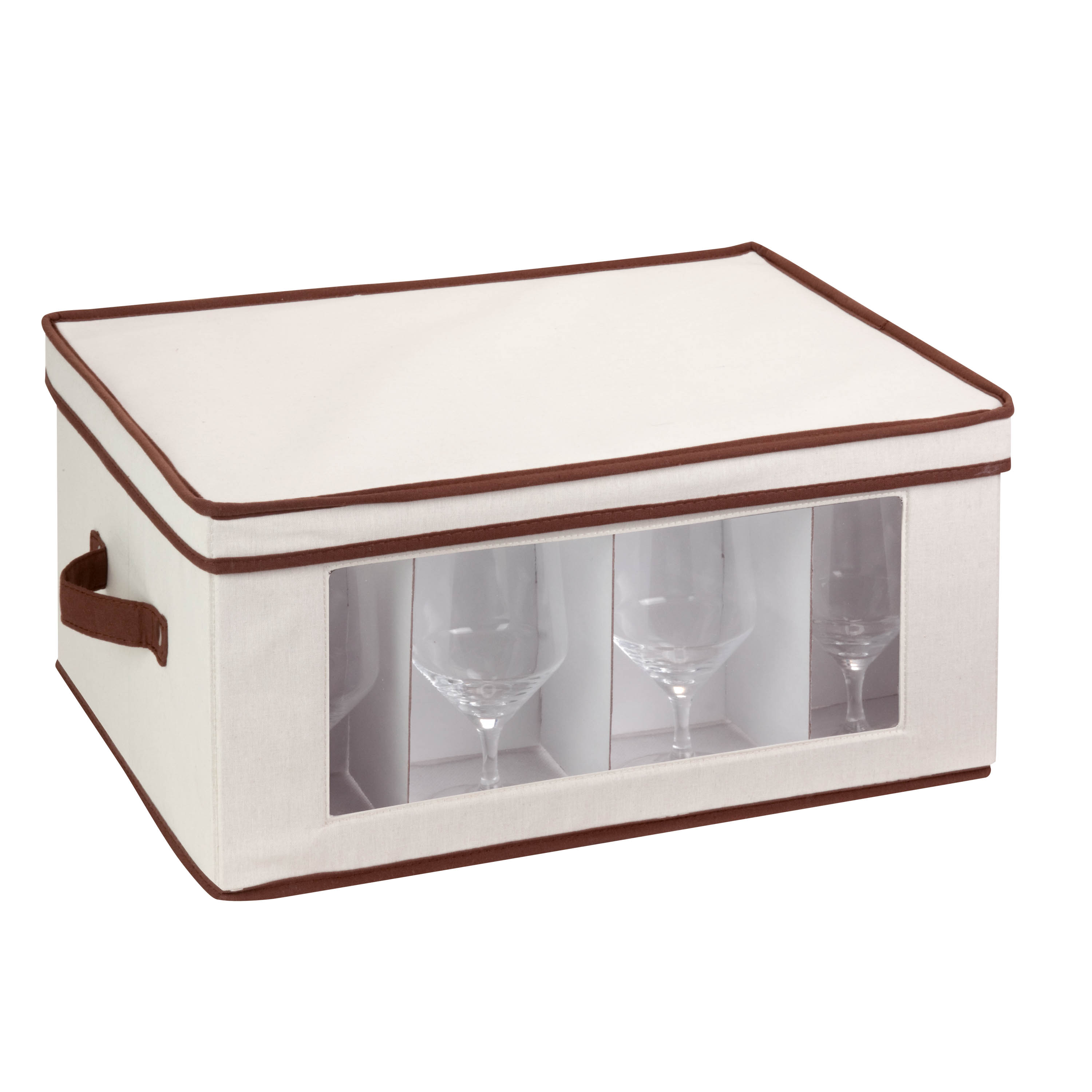 Mainstays Natural Canvas Large Window Storage Chest