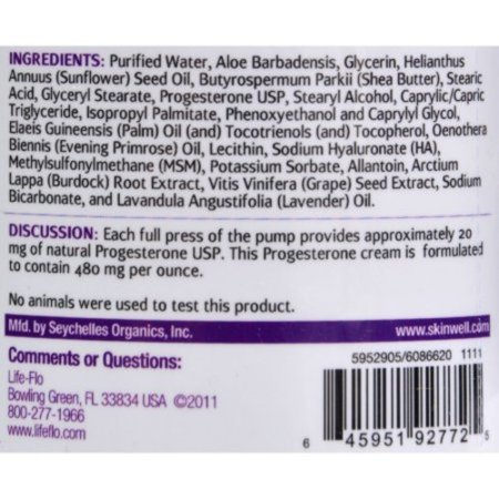 Life-Flo Progesta-care With Lavender, 4-Ounce ()