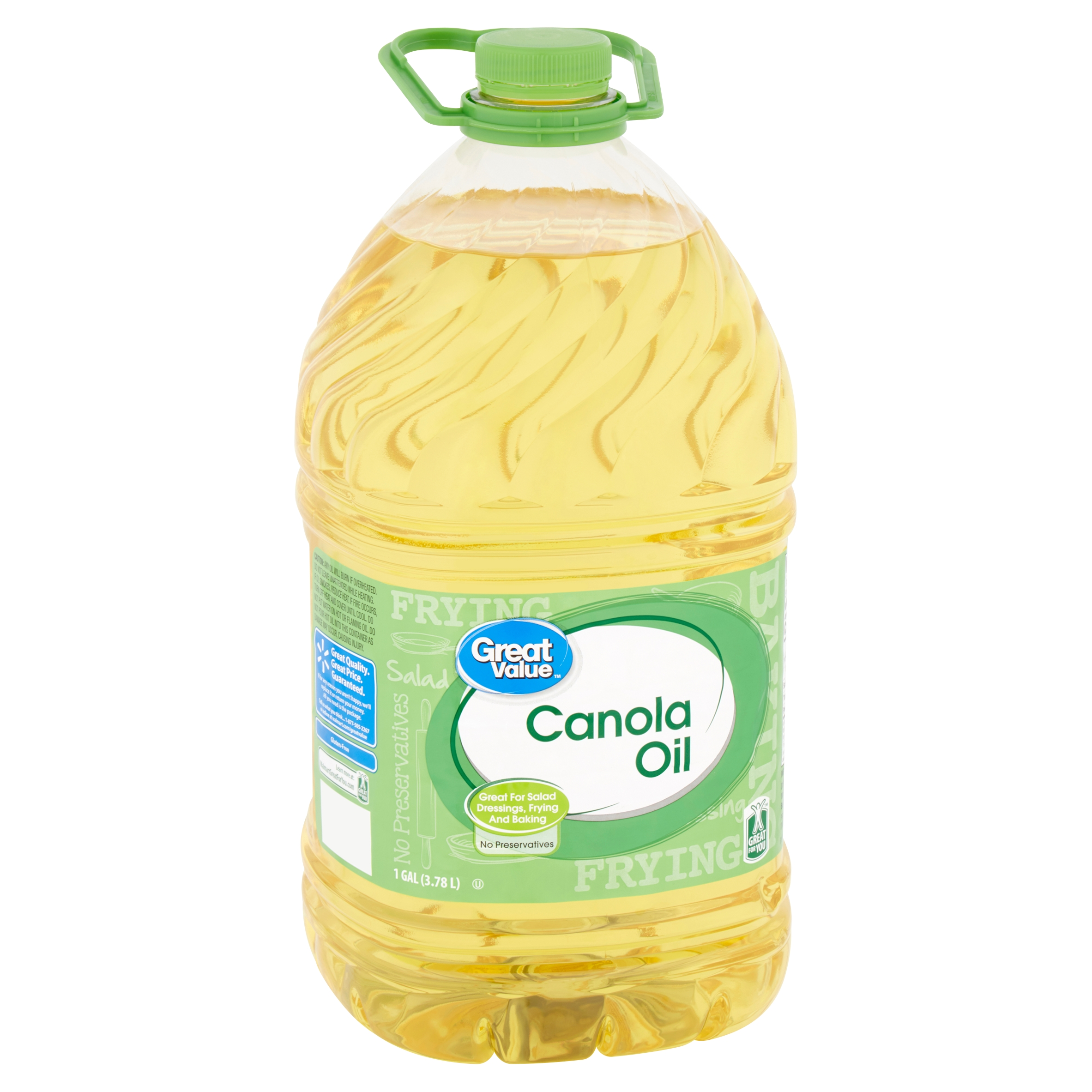 Great Value Canola Oil, 1 gal