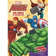 Marvel the Mighty Avengers - Extreme Action! : 400 Pages of Coloring Fun