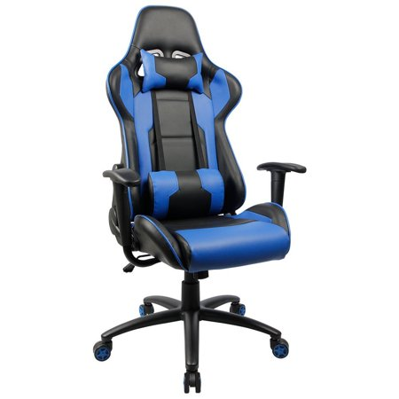Astonishing Homall Executive Swivel Leather Gaming Chair Racing Style Squirreltailoven Fun Painted Chair Ideas Images Squirreltailovenorg