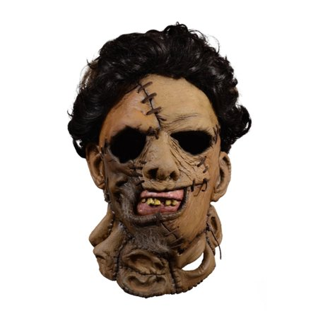 The Texas Chainsaw Massacre Adult Leatherface 1986 Mask Halloween Costume Accessory - Frontier Texas Halloween