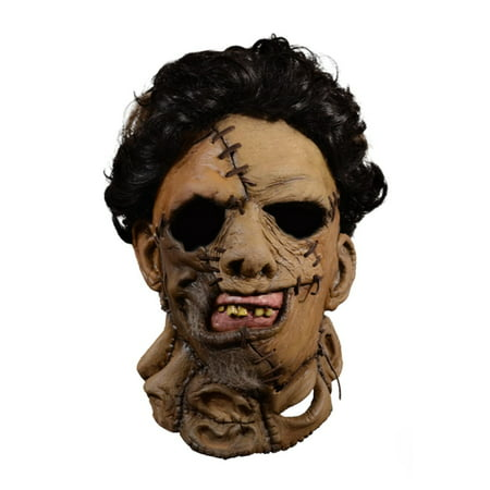The Texas Chainsaw Massacre Adult Leatherface 1986 Mask Halloween Costume Accessory](Halloween Saw Face)