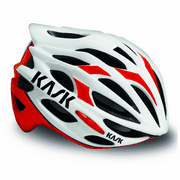 Kask Mojito Cycling Helmet Red / White Medium 48-58cm Road Bicycle Bike Safety