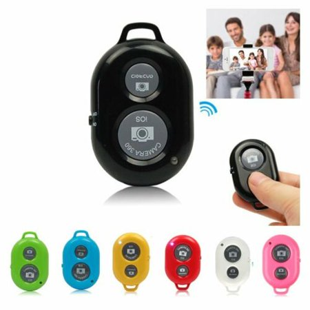 Wireless Remote Shutter Release - The QuikPic Remote - iPhone Wireless Remote Camera Control for Any iOS & Android Smartphone black ()