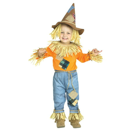 Toddler Li'l Scarecrow Wizard of Oz Costume (Wizard Of Oz Oz Costume)