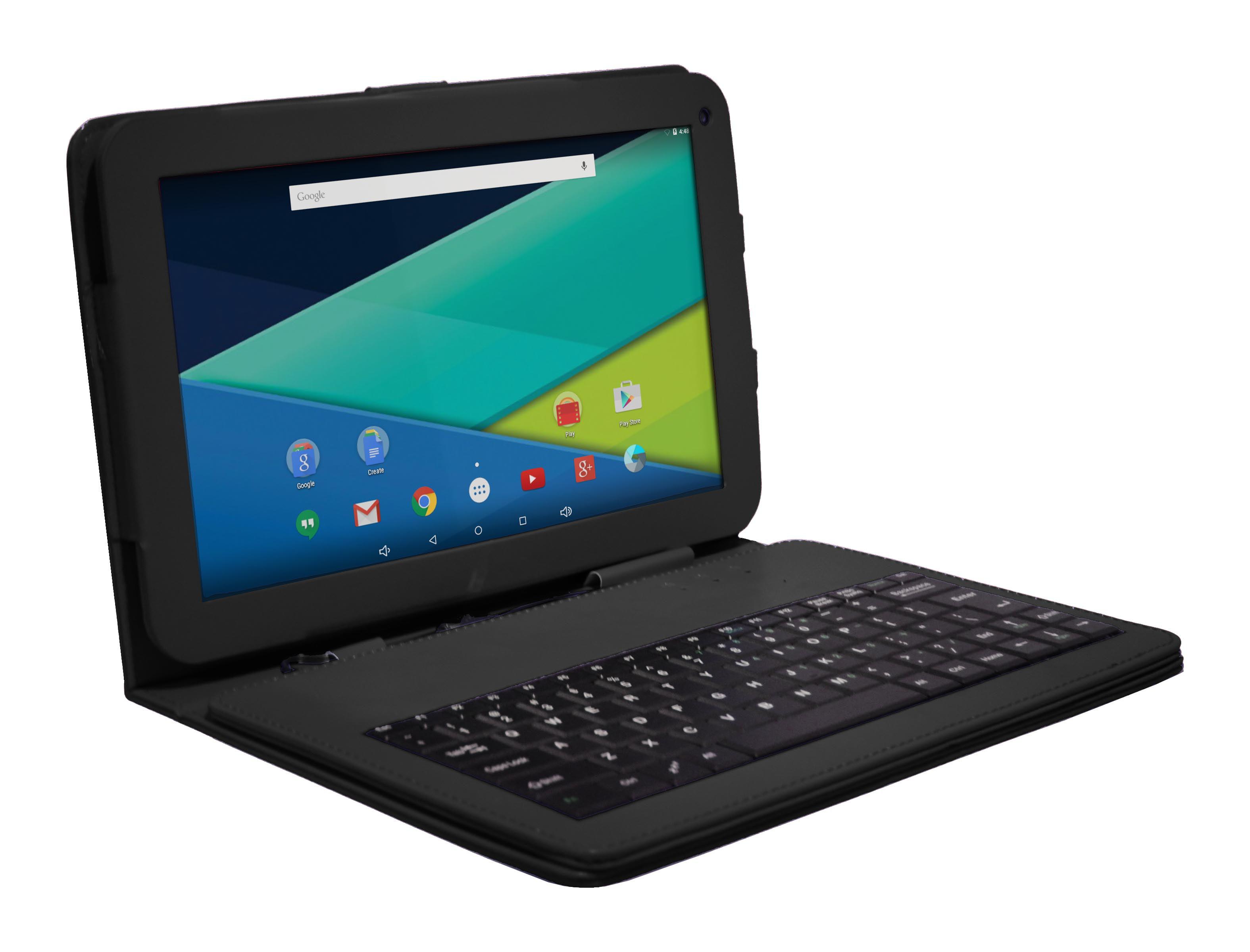 "Visual Land Prestige 10.1"" Quad Core Tablet 16GB Includes"