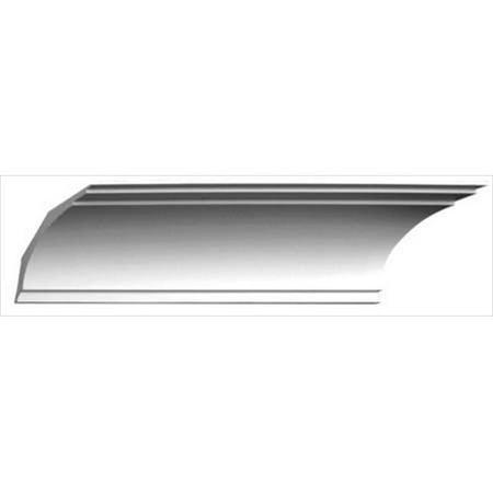 Crown Prop (American Pro Decor 5APD10125 94.5 x 4.37 in. Plain Crown)