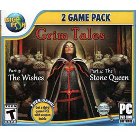 Grim Tales The Wishes & The Stone Queen (PC DVD), 2 (Brothers A Tale Of Two Sons Pc Game)