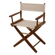 Extra-Wide Mission Oak Frame Directors Chair