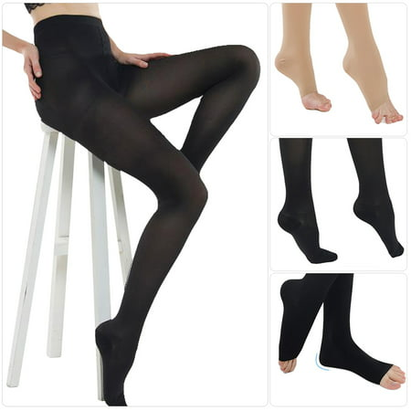 20-30 mmHg Women Slim Tights Compression Stockings Pantyhose Varicose Veins Pantyhose Skins Half Tights