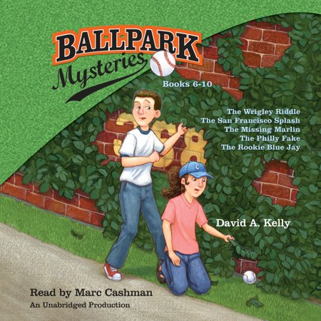 Ballpark Mysteries Collection: Books 6-10 : The Wrigley Riddle; The San Francisco Splash;  The Missing Marlin; The Philly Fake; The Rookie Blue Jay (Fake Boobs For Halloween)