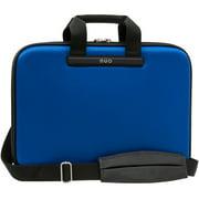 Blue Nuo Slim Laptop Case, Semi-Rigid Protective Laptop Shoulder Bag Briefcase with Detachable Strap, Compatible with 15.6 Inch Screens