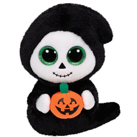 Ty Treats The Ghoul Ghost Halloween Beanie Boos Stuffed Plush Animal Toy - Halloween Plush Toys