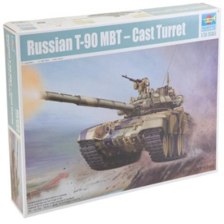 Trumpeter Russian T-90 MBT Cast Turret Model