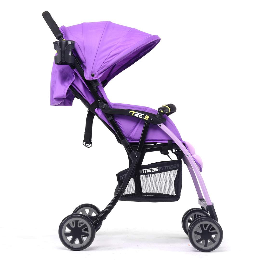 Pali Ultra Lightweight Tre.9 Stroller Fitness Fashion in Rio Purple - Only 11 lbs.