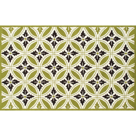 The Rug Market Florin Green R Rug, 8' x 10'