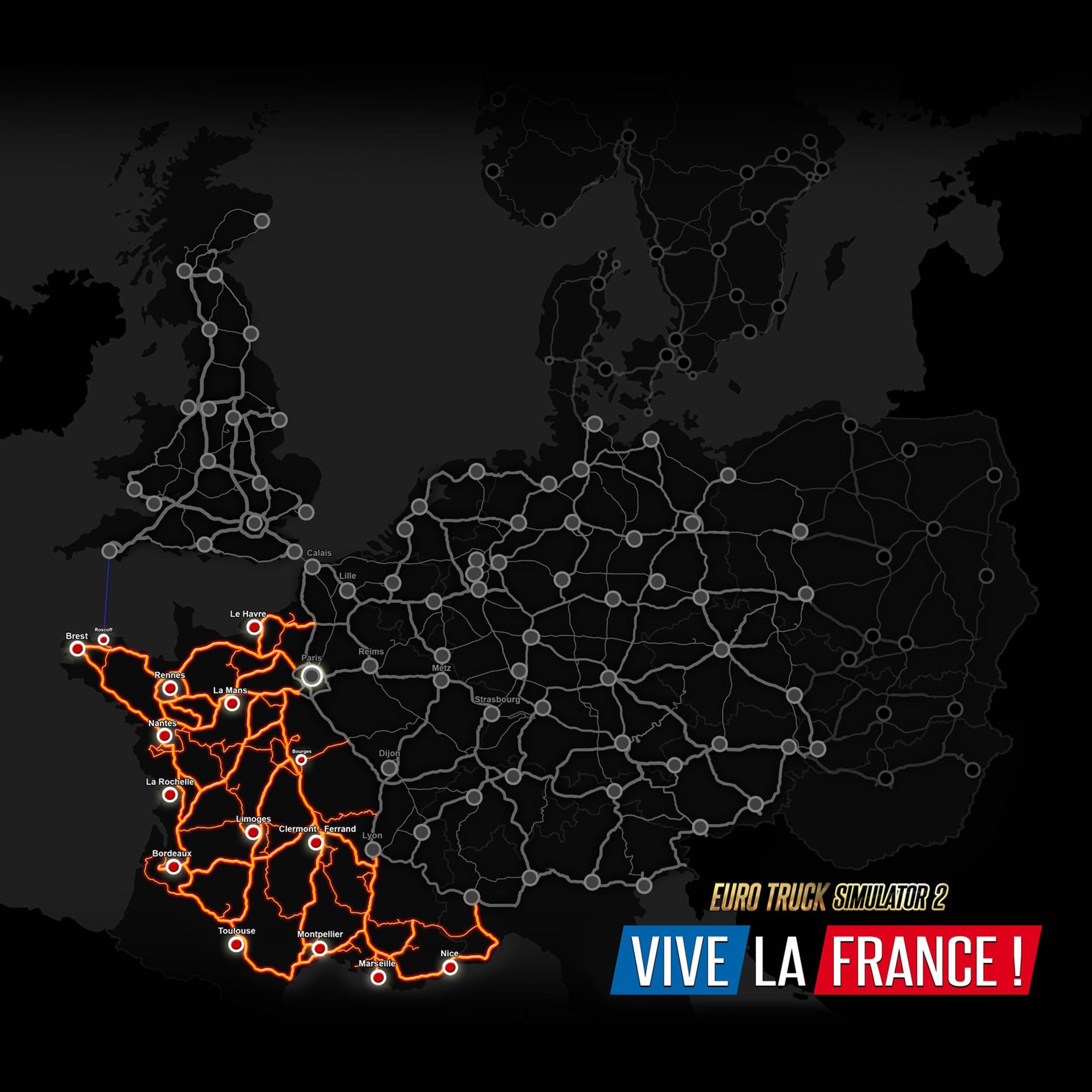 Euro Truck Simulator 2 - Vive La France (PC) (Digital Download)