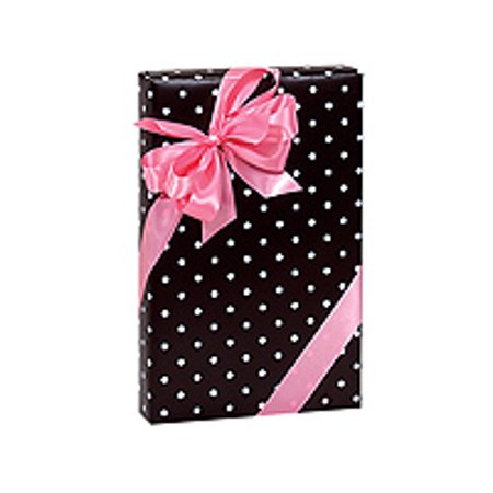 Polka Dot Paper (Black and White Polka Dot Birthday / Special Occasion Gift Wrap Wrapping)