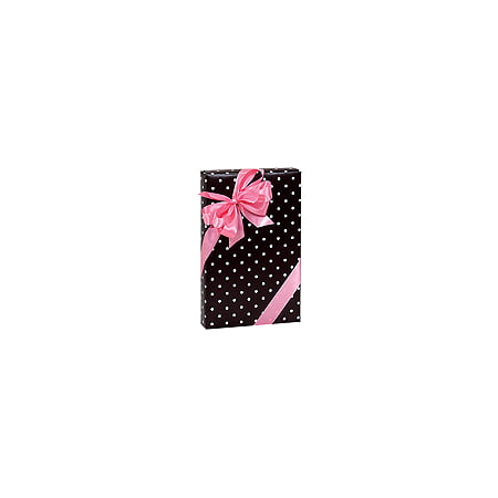 Black and White Polka Dot Birthday / Special Occasion Gift Wrap Wrapping Paper-16ft