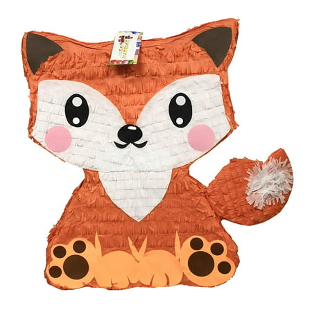 APINATA4U Orange Fox Pinata Great for Woodland Themed Party (Pinatas For Boys)
