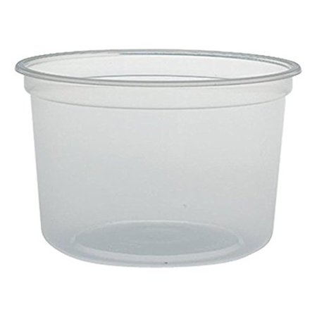 safepro 16hdb 16 oz clear plastic soup food containers with lids translucent to go lunch. Black Bedroom Furniture Sets. Home Design Ideas