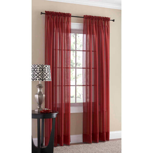 S. Lichtenberg & Co. Mainstays Marjorie Sheer Voile Curtain Panel
