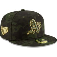 Oakland Athletics New Era 2019 MLB Armed Forces Day On-Field 59FIFTY Fitted Hat - Camo