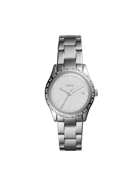 3d2023b5e Fossil Women's Adalyn Silver Tone Stainless Steel Watch (Style: BQ3373)