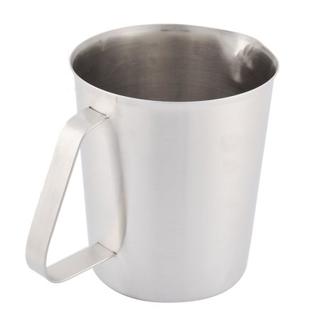 Kitchen Stainless Steel 1500ml Capacity Graduated Measuring Cup Silver Tone - image 2 of 3