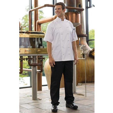 Tailored Chef Pants (4020-0107 Executive Chef Pant in Black - 3XLarge )