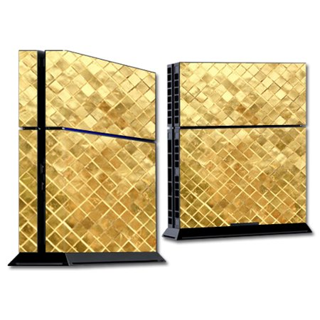 Gold Vegetable Dish - Skin For Sony Playsation 4   MightySkins Protective, Durable, and Unique Vinyl D