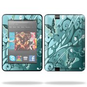 "Skin Decal Wrap for Kindle Fire HD 7"" inch Tablet cover Blue Vortex"