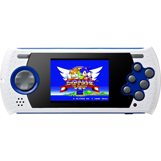 Sega Genesis Ultimate Portable Game Player, White, GP3228 - Walmart com