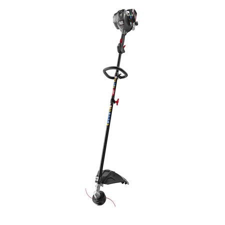 Black Max 2-Cycle 25cc Full Crank Straight Shaft Attachment Capable String Trimmer