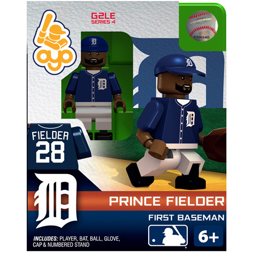OYO MLB 2013 Tigers Prince Fielder Mini Action Figure