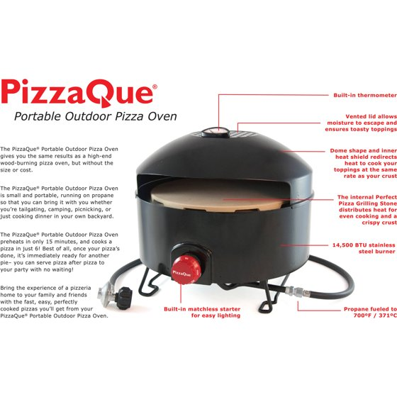 Pizzacraft PizzaQue Outdoor Pizza Oven, PC6500 - Walmart.com