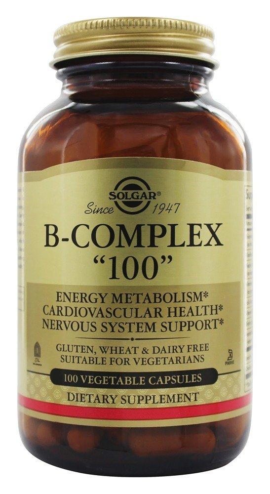 Solgar - B Complex 100 - 100 Vegetarian Capsules