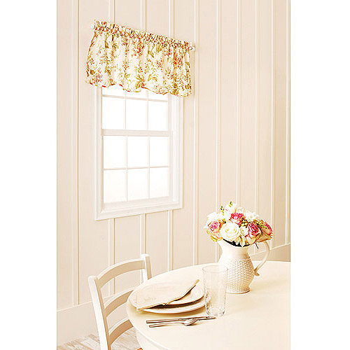 Better Homes and Gardens Lilac Print Kitchen Tiers or Valance