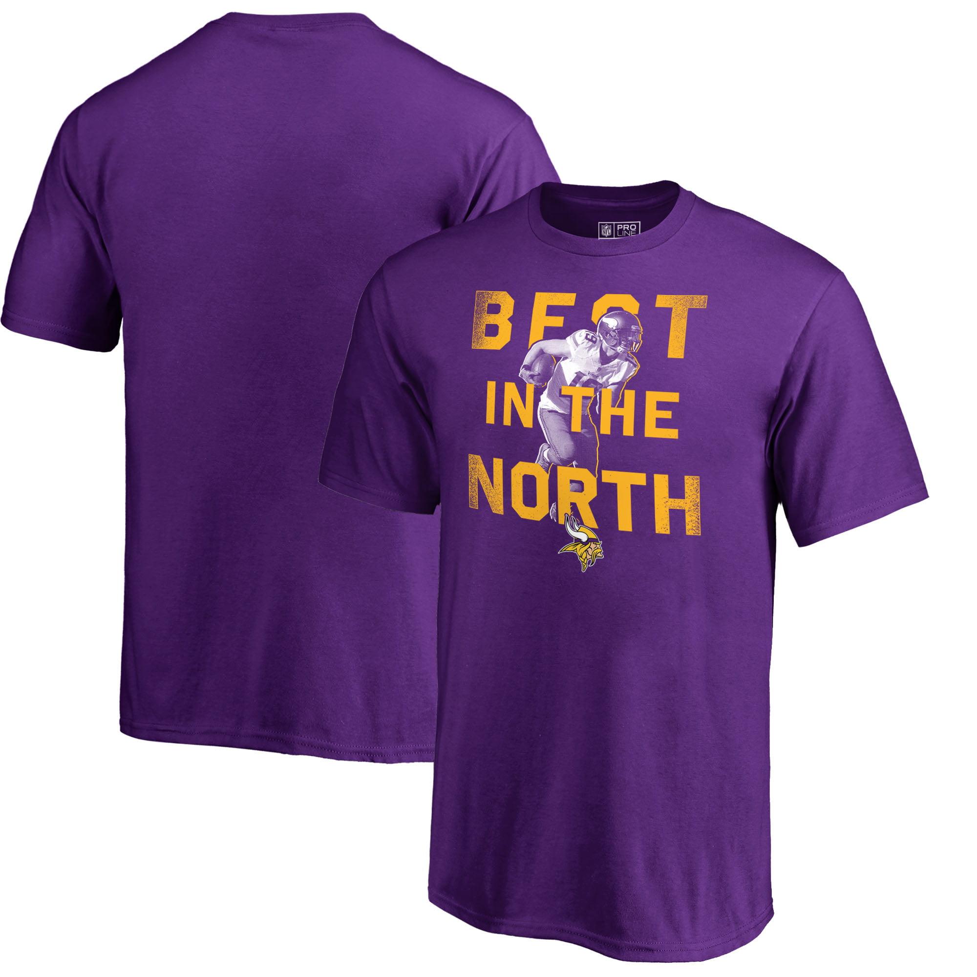Adam Thielen Minnesota Vikings NFL Pro Line by Fanatics Branded Youth Hero T-Shirt - Purple