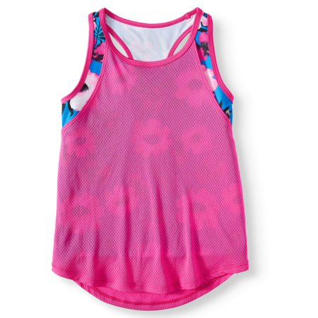 Avia Floral 2-Fer Athletic Tank Top (Little Girls & Big Girls)