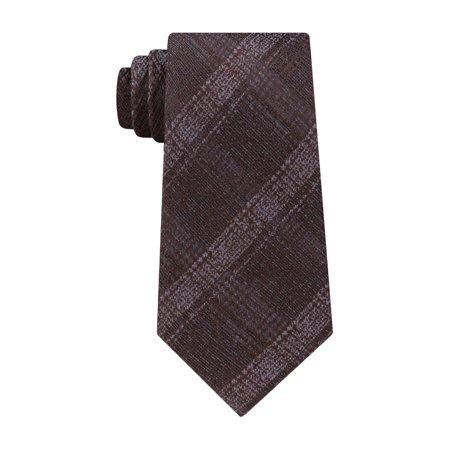 Check Necktie - Michael Kors Mens Briarcliff Silk Plaid Neck Tie