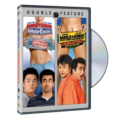 Harold & Kumar Go To White Castle (Unrated) / Harold & Kumar Escape From Guantanamo Bay (Unrated)