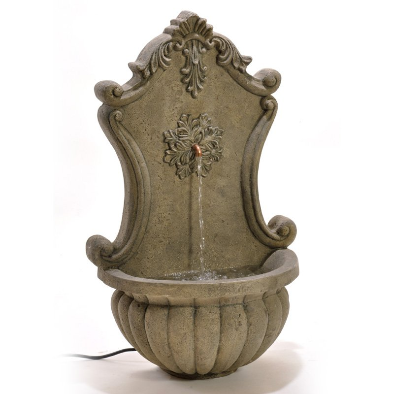 Birdrock Home Stonecast Wall Fountain by BirdRock Home