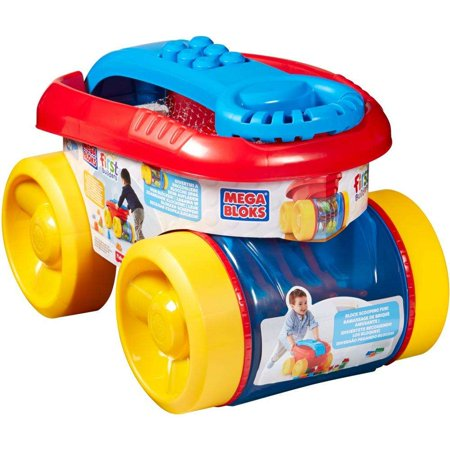 Mega Bloks First Builders Block Scooping Wagon (Blue)