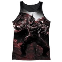 Infinite Crisis DC IC Batman With Batarang Adult Black Back Tank Top Shirt